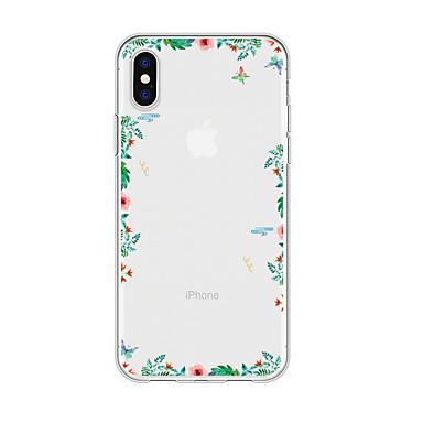 voordelige iPhone 5 hoesjes-hoesje voor iphone x xs max xr xs achterkant zachte hoes TPU eenvoudige bloem zachte TPU voor iPhone5 5s se 6 6p 6s sp 7 7p 8 8p16 * 8 * 1