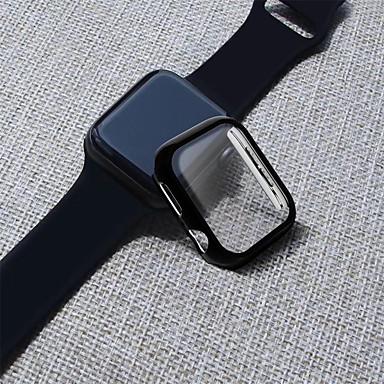Недорогие Защитные пленки для смарт-часов-ПК с защитной пленкой на весь корпус для Apple Watch серии 4 3 2 1 44мм / 40мм / 38 / 42мм защитная оболочка