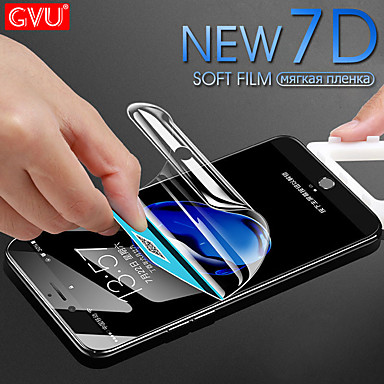 Недорогие Защитные плёнки для экрана iPhone-Защитная плёнка для экрана для Apple TPG Hydrogel Защитная пленка для экрана HD