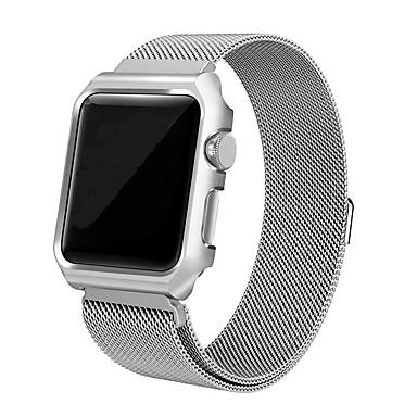 Недорогие Ремешки для Apple Watch-ремешок из нержавеющей стали мелкая сетка 0,4 линия милан металлическая сетка с пряжкой для apple apple watch 4 серии 4/3/2/1 поколения