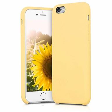 Недорогие Кейсы для iPhone-чехол для apple iphone 6 / iphone 6s резервный / противоударный / пылезащитный задняя крышка сплошная мягкая резина / силикагель / тпу для iphone 6 / iphone 6s