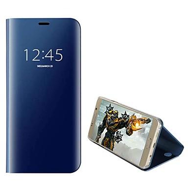 Недорогие Чехлы и кейсы для Galaxy Note 4-Кейс для Назначение SSamsung Galaxy Note 9 / Note 8 / Note 5 Защита от удара Чехол Однотонный Твердый Кожа PU / ПК