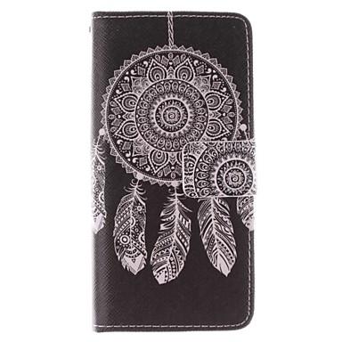 Недорогие Чехлы и кейсы для Galaxy S6 Edge-Кейс для Назначение SSamsung Galaxy S7 edge / S7 / S6 edge plus Защита от удара / со стендом Чехол Соблазнительная девушка / Животное Твердый Кожа PU