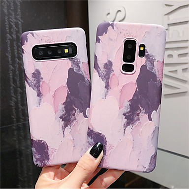 voordelige Galaxy S-serie hoesjes / covers-hoesje Voor Samsung Galaxy S9 / S9 Plus / S8 Plus Glow in the dark / Patroon Achterkant Kleurgradatie Hard PC