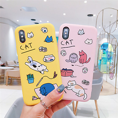 voordelige iPhone 7 hoesjes-hoesje Voor Apple iPhone 11 / iPhone 11 Pro / iPhone 11 Pro Max Patroon Buideltas Cartoon Zacht TPU