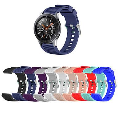 Недорогие Ремешки для часов Huawei-Ремешок для часов для Huawei Watch GT / Watch 2 Pro Huawei Спортивный ремешок / Классическая застежка силиконовый Повязка на запястье