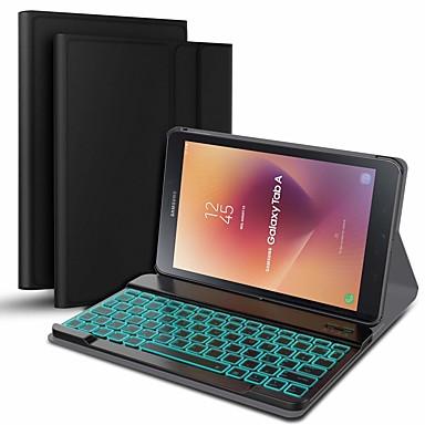 ieftine Carcase Tabletă-Maska Pentru Samsung Galaxy Galaxy Tab A 10.5 T595 T590 Anti Șoc / Anti Praf / cu Tastatură Carcasă Telefon Mată Greu PU piele
