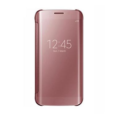 Недорогие Чехлы и кейсы для Galaxy S6 Edge-Кейс для Назначение SSamsung Galaxy S8 Plus / S8 / S8 Edge Защита от удара / Защита от пыли Чехол Однотонный Твердый ПК