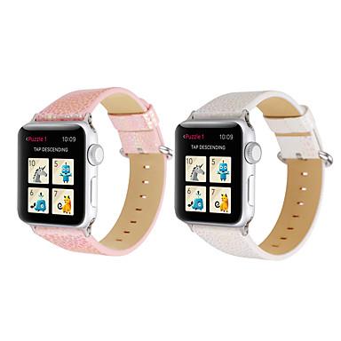 Недорогие Ремешки для Apple Watch-ремешок для часов для Apple Watch серии 4/3/2/1 яблоко современная пряжка из натуральной кожи ремешок на запястье