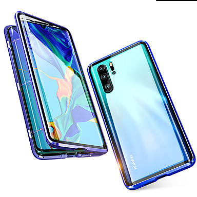 voordelige iPhone 6 Plus hoesjes-hoesje Voor Apple iPhone XS / iPhone XR / iPhone XS Max Transparant Achterkant / Volledig hoesje Transparant Hard Gehard glas / Aluminium