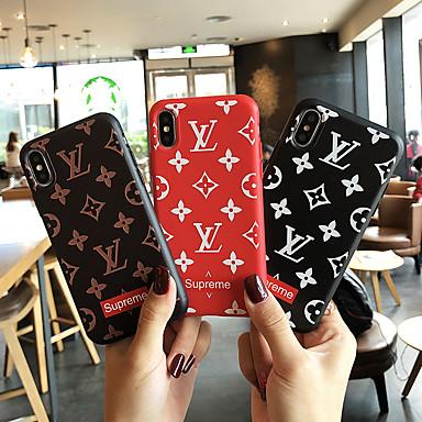 voordelige iPhone X hoesjes-hoesje Voor Apple iPhone XS / iPhone XR / iPhone XS Max Stofbestendig / Reliëfopdruk Volledig hoesje Woord / tekst Zacht TPU