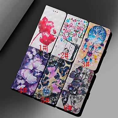 ieftine Carcase / Huse de Huawei-Maska Pentru Huawei Huawei Y6 (2019) / Mate 10 lite Portofel / Titluar Card / Anti Șoc Carcasă Telefon Fluture / Floare Greu PU piele pentru Huawei Nova 3i / Mate 10 / Mate 10 pro