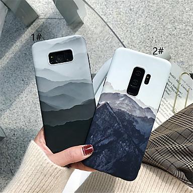 voordelige Galaxy S-serie hoesjes / covers-hoesje Voor Samsung Galaxy S9 / S9 Plus / S8 Plus IMD / Patroon Achterkant Landschap Zacht TPU