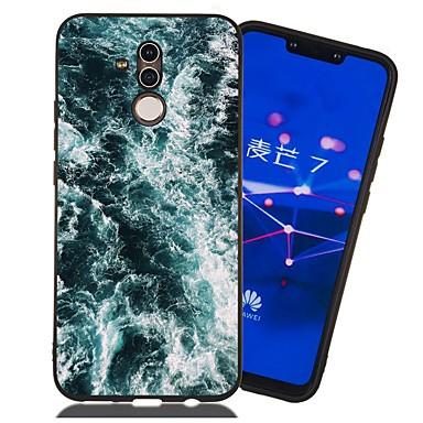 voordelige Huawei Mate hoesjes / covers-hoesje voor huawei honor 9 lite / honor 8a patroon / mat / schokbestendig achterkant landschap zacht tpu voor mate 10 lite / mate 20 lite / mate 20 pro / eer 10 / eer 10 lite / eer 6a