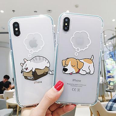 voordelige iPhone 6 Plus hoesjes-hoesje Voor Apple iPhone 11 / iPhone 11 Pro / iPhone 11 Pro Max Patroon Buideltas dier Zacht TPU