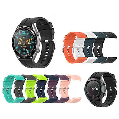 رخيصةأون أساور ساعات Huawei-سيليكون الرياضة استبدال حزام رباط المعصم لساعة هواوي gt 42mm / 46mm