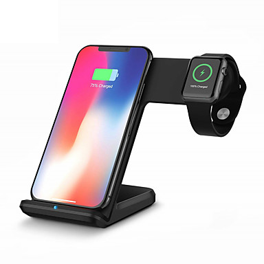 Недорогие Гаджеты для Samsung-KawBrown Smartwatch Charger / Зарядное устройство для дома / Беспроводное зарядное устройство Зарядное устройство USB USB Беспроводное зарядное устройство Не поддерживается 1.67 A DC 9V / DC 5V для