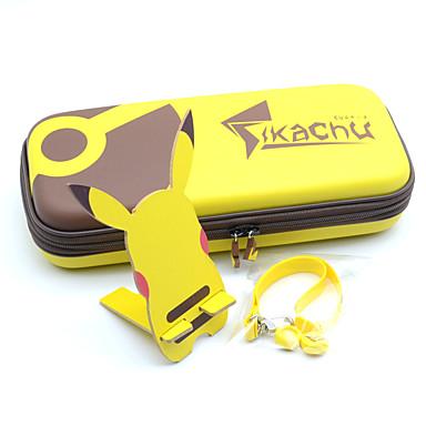 olcso Videojáték tartozékok-Táskák / Játék kiegészítők készletei Kompatibilitás Nintendo Switch ,  Új design Táskák / Játék kiegészítők készletei PU bőr / EVA 5 pcs egység