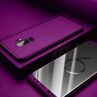 Недорогие Чехлы и кейсы для Galaxy S6-Кейс для Назначение SSamsung Galaxy S9 / S9 Plus / S8 Plus Защита от пыли / Ультратонкий / Матовое Чехол Однотонный ПК
