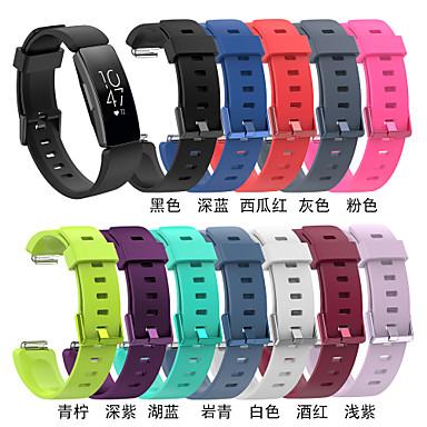ieftine Până la 0,99 USD-Uita-Band pentru Fitbit Inspire HR / Fitbit Inspire Fitbit Banderola Sport Silicon Curea de Încheietură