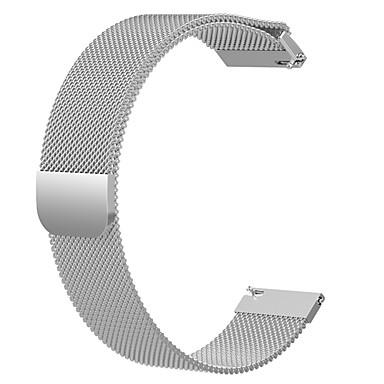 Недорогие Ремешки для часов Huawei-Ремешок для часов для Huawei Watch GT Huawei Миланский ремешок Нержавеющая сталь Повязка на запястье
