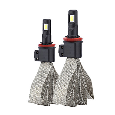 voordelige Autokoplampen-2 stks h8 / h9 / h11 koplamp s7 auto led vervangende lamp auto signaal verlichting lamp universele toepassing