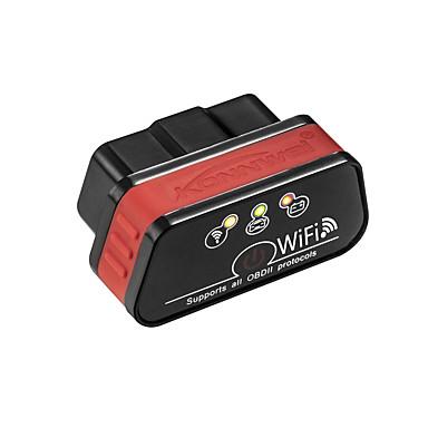 voordelige OBD-kw901 bluetooth obdii auto foutcode scanner diagnostische lezer (voor android telefoon gratis software kan alleen 12v benzine auto detecteren)