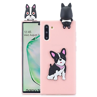 voordelige Galaxy Note-serie hoesjes / covers-hoesje Voor Samsung Galaxy Note 9 / Note 8 / Galaxy Note 10 Patroon Achterkant 3D Cartoon TPU