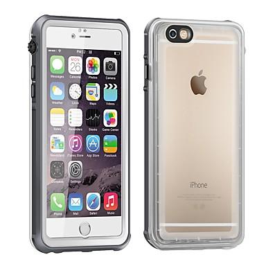 voordelige iPhone-hoesjes-hoesje Voor Apple iPhone 6s / iPhone 6 Stofbestendig / Waterbestendig / Doorzichtig Waterdicht etui Transparant silica Gel