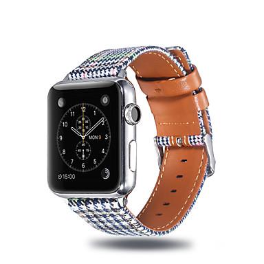 voordelige Smartwatch-accessoires-Horlogeband voor Apple Watch Series 4 / Apple Watch Series 3 / Apple Watch Series 2 Apple Sportband Stof / Silicone Polsband