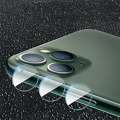 voordelige iPhone screenprotectors-schermbeschermer voor Apple iPhone 11/11 pro / 11 pro max gehard glas 1 pc cameralensbeschermer high definition (hd) / 9h hardheid / explosieveilig