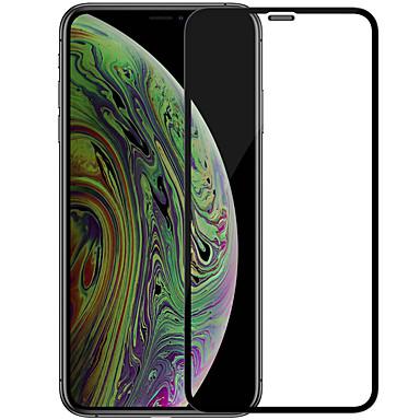 voordelige iPhone screenprotectors-Nillin Full Screen Arc Edge Screen Protector voor Apple iPhone 11 Pro Max High Definition (HD) Full Body Screenprotector 1 stuk gehard glas