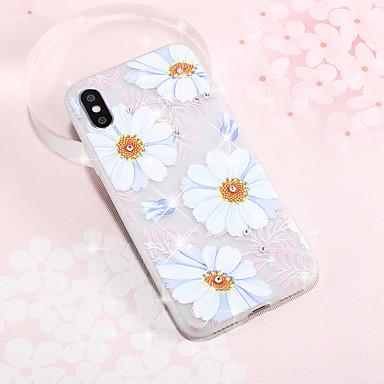 voordelige Galaxy S-serie hoesjes / covers-hoesje Voor Samsung Galaxy S9 / S9 Plus / S8 Plus Patroon Achterkant Boom / Bloem TPU
