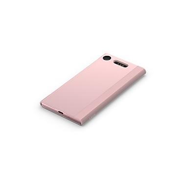voordelige Hoesjes / covers voor Sony-hoesje Voor Sony Sony Xperia XZ1 Schokbestendig / Stofbestendig / Flip Volledig hoesje Effen PC / Metaal