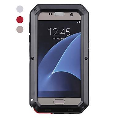voordelige Galaxy S-serie hoesjes / covers-hoesje Voor Samsung Galaxy S8 Plus / S8 / S7 edge Schokbestendig / Waterbestendig Volledig hoesje dier Hard Metaal