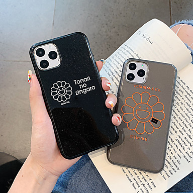 voordelige iPhone 6 Plus hoesjes-glitter shine Sun Flower TPU Case voor Apple iPhone 11 pro max 8 plus 7 plus 6 plus max patroon achterkant