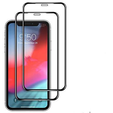 voordelige iPhone screenprotectors-2 stks Full Cover gehard glas voor iPhone 11 Pro 2019 op iPhone XR X XS Max schermbeschermer beschermglas voor iPhone XI XIR Max