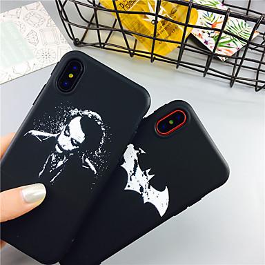 voordelige iPhone 7 hoesjes-schedel cartoon TPU case voor Apple iPhone 11 pro max 8 plus 7 plus 6 plus max patroon achterkant