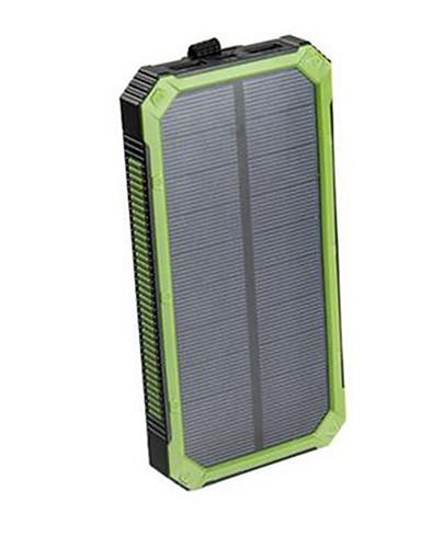 저렴한 보조배터리-태양 전원 은행 방수 16000mah 태양 열 충전기 듀얼 USB 포트 led 충전기와 스마트 폰에 대 한 외부 충전기 powerbank