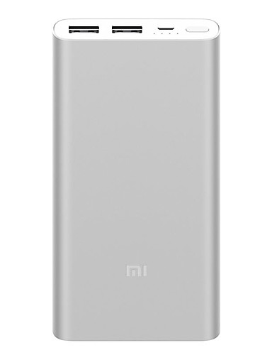 cheap Power Banks-Original Xiaomi Mi Power Bank 2 10000 mAh External Battery portable charging Quick Charge 10000mAh Powerbank Supports 18W Charging Dual USB Port