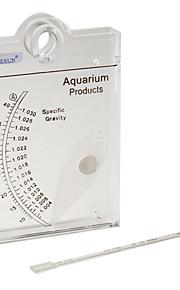 דגים אקווריומים מד מים עמיד פלסטי