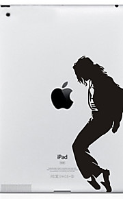 Dancing Pattern Protective Sticker for The New iPad and iPad 2
