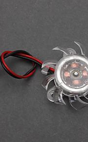 Wit Kunststof PC Chassis Cooling Fan (4cm) ECS002986