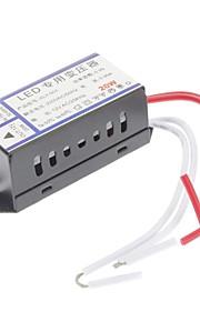 ac 220v à ac 12v 20w a mené l'accessoire d'éclairage de haute qualité de convertisseur de tension