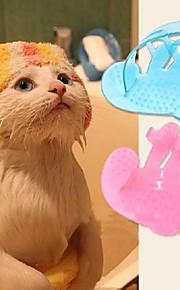 Кошка Собака Уход Щетки Синий Розовый