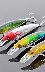 TrulinoyaHard Mini Bait Internal Radiation Minnow 95mm/9g/1m Fishing Lure