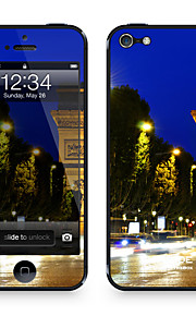 "Da Code ™ Skin voor iPhone 5/5S: ""Champs Elysee bij Nacht"" (City Series)"