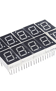 10-Pin 7-Segment Red LED Display Common Cathode (10 PCS)
