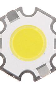 3W COB 280-320LM 6000-6500K Cool White Light LED Chip (9-11V, 300uA)