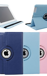 Case For iPad 4/3/2 with Stand 360° Rotation Full Body Cases Solid Color PU Leather for iPad 4/3/2